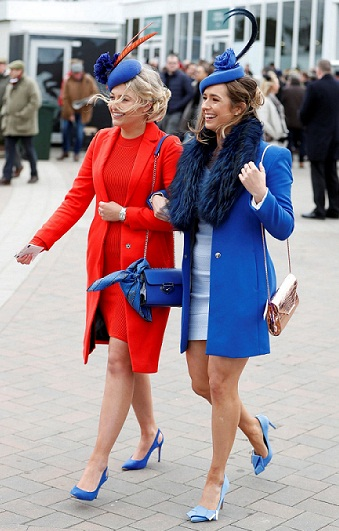 Cheltenham Festival 2019: Short-Over hats and Long coat, Ladies Day Top trends