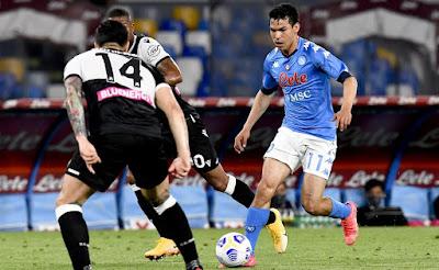 ملخص واهداف مباراة نابولي واودينيزي (5-1) الدوري الايطالي