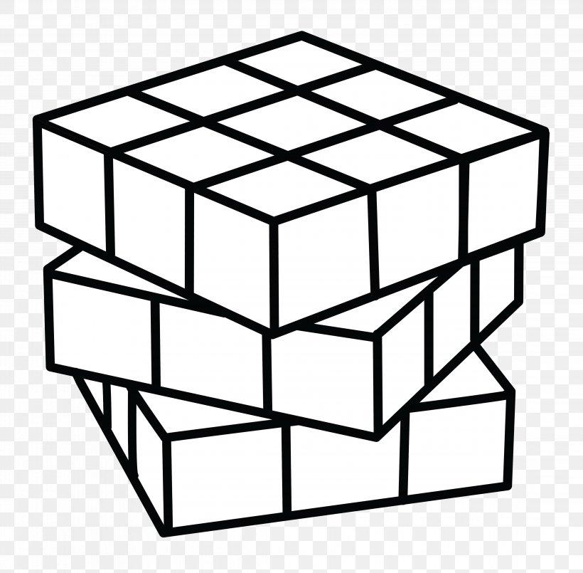 Cubo Mágico para imprimir e colorir
