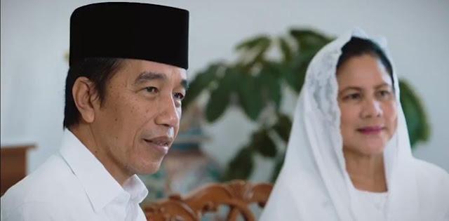 Presiden Jokowi: Saya Yakin Kita Mampu Lewati Ujian Berat Ini, Mohon Maaf Lahir Dan Batin