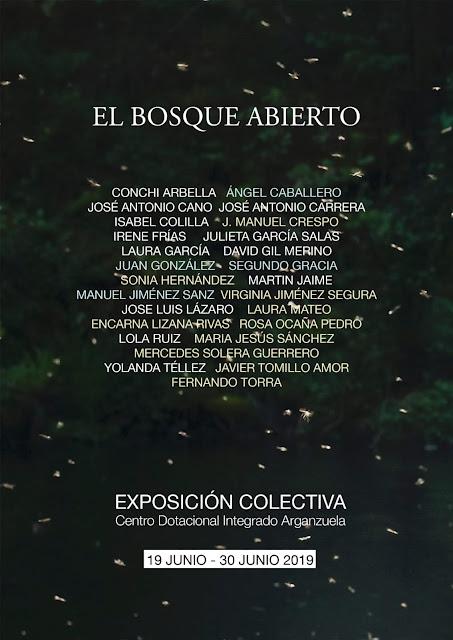 El Bosque Abierto - Participantes de la exposición fotografica en el Centro Cultural Arganzuela