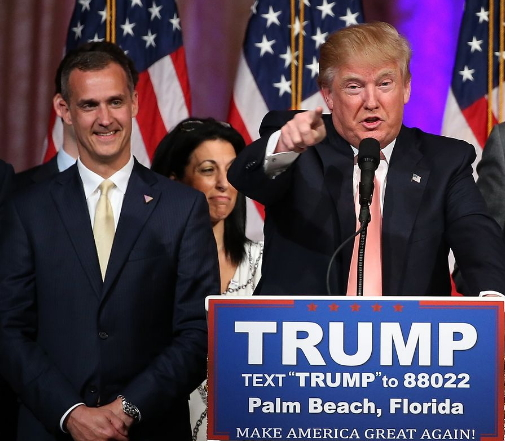 donald trump sacks campaign manager