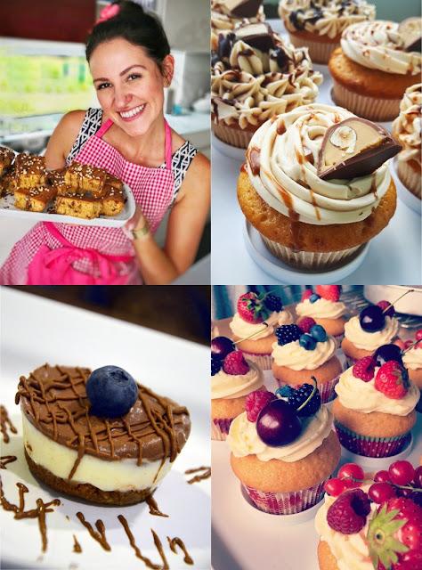 Lilly Kürten, die Cupcake-Queen des YouTube Kanals Lilly's Cupcakery.