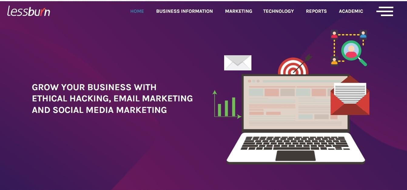 lessburn - Digital Marketing Company