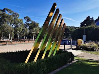 Canberra Public Art | AIS sculptures.