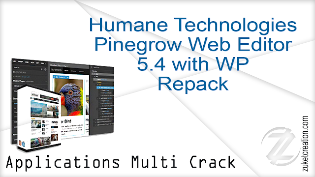 Humane Technologies Pinegrow Web Editor 5.4 with WP Repack