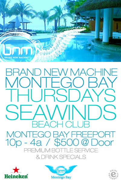 Brand New Machine Moves To The Seawind Beach Club In Montego Bay