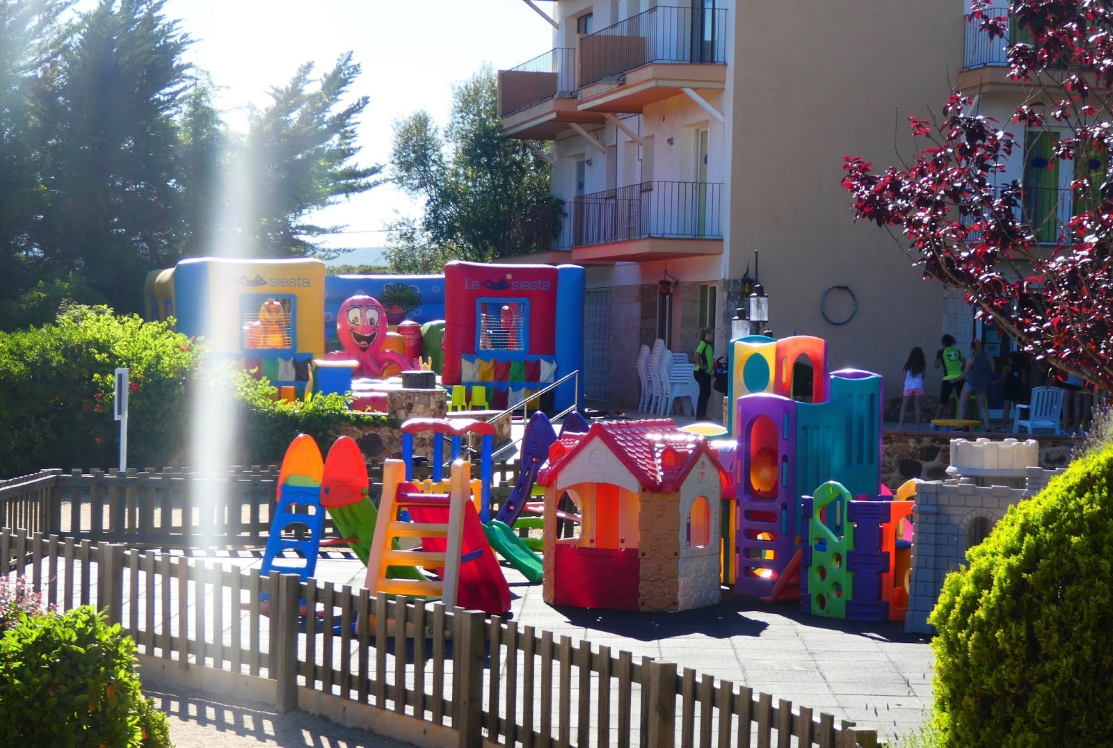 Camping La Siesta, Calella de Palafrugell, Costa Brava - a review - mini club toddlers