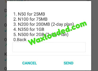 MTN 4GB for N500 Naira