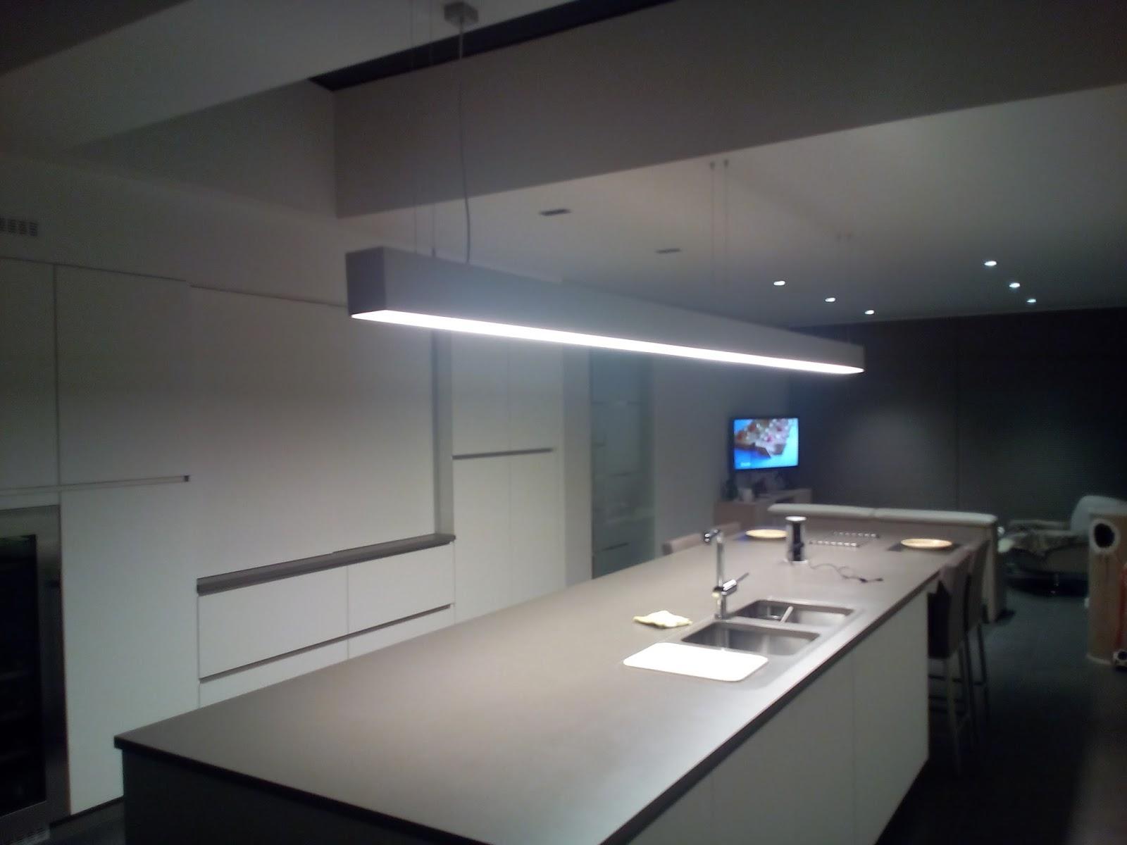 Verbouwing in burst verlichting keuken for Verlichting keuken