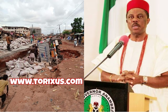 We are Stupid for Voting Obiano, Man Lament Over Poor Road Condition in Ogbaru