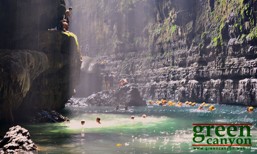 Green Canyon Cukang Taneuh Pangandaran Indonesia