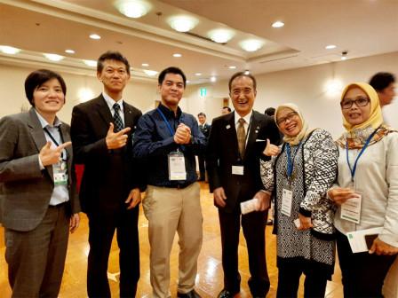Delegasi Jakarta Hadiri Urban Agriculture World Summit 2019 di Tokyo