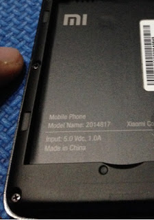 Model Name Xiaomi Redmi