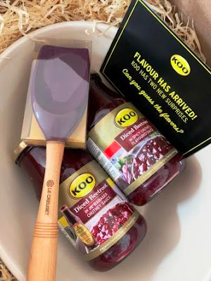 KOO Diced Beetroot:  Mrs H. S Balls Chutney Sauce and Spicy Chutney Flavoured Sauce