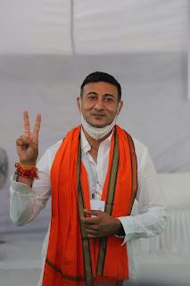 बदनावर उपचुनाव : 31591 मतो से भाजपा प्रत्याशी राजवर्धन सिंह दत्तीगांव विजय हुए