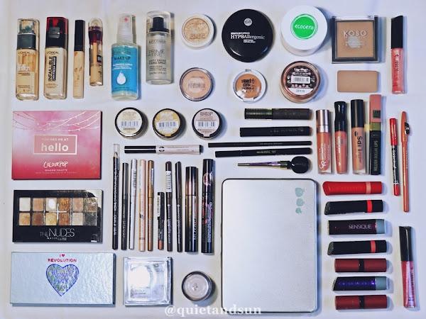 Jak zmniejszyć ilość kosmetyków do makijażu? Porządki w mojej kosmetyczce