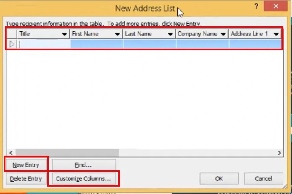 Panduan Menggunakan Mail Merge Microsoft Word