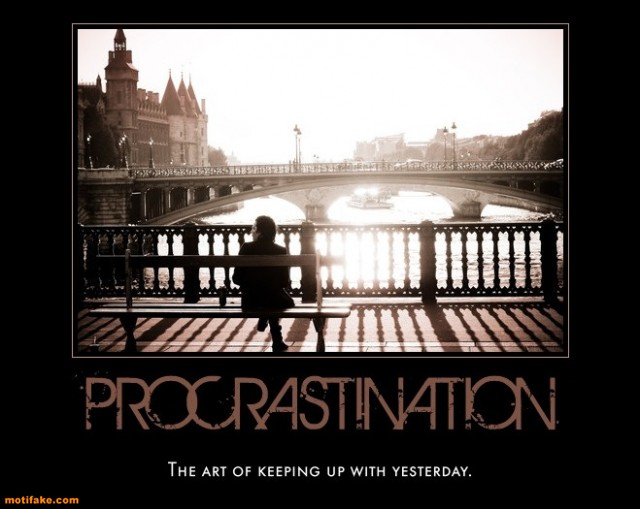 Why Procrastination is Good for You