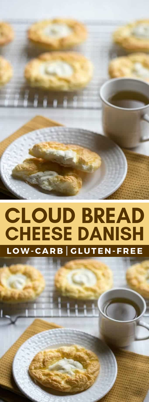 Cloud Bread Cheese Danish – Egg Fast #lowcarb #ketodiet