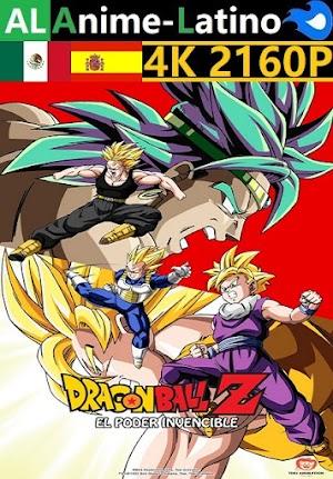 Dragon Ball Z - El poder invencible [1993] [4K ULTRA HD] [2160P] [Latino] [Castellano] [Inglés] [Japonés] [Mediafire]