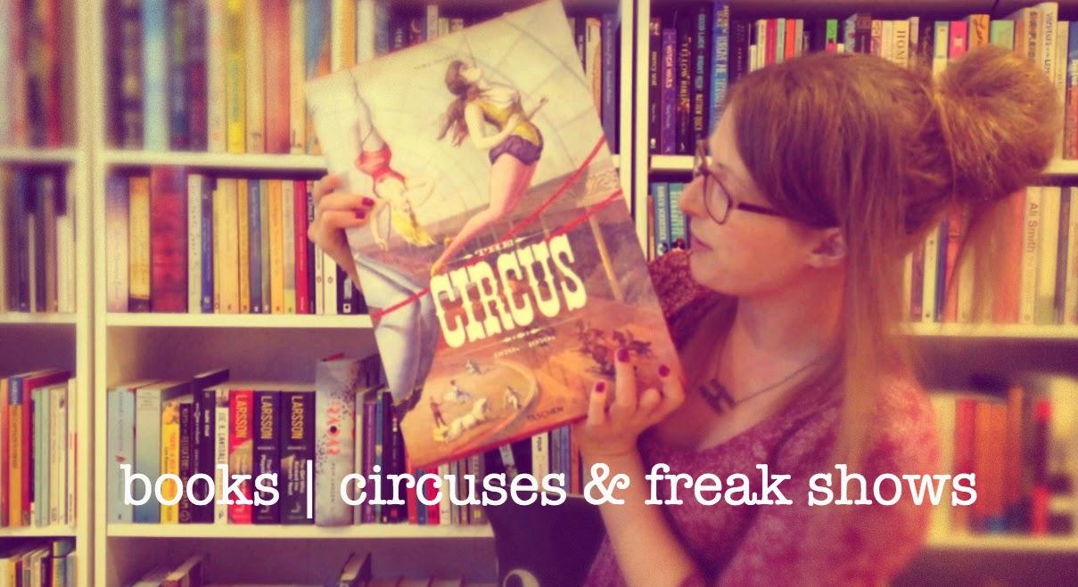 Fiction Novel Circus Freak Midget 6