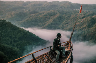 Lokasi Wisata Jurang Tembelan Kanigoro, Spot Indah Menikmati Kali Oyo