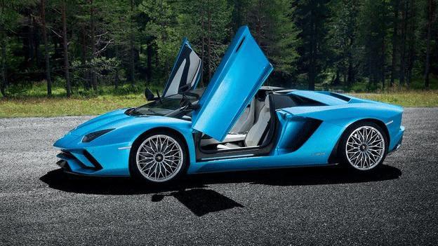 Lamborghini Aventador S Roadster Engine