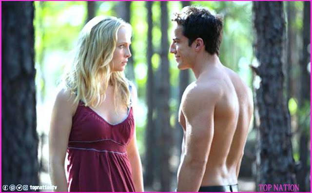 Caroline Can Slap Klaus in the woods