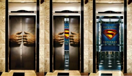Add Comments & Superman Elevator Door Optical Illusion | Genius Puzzles