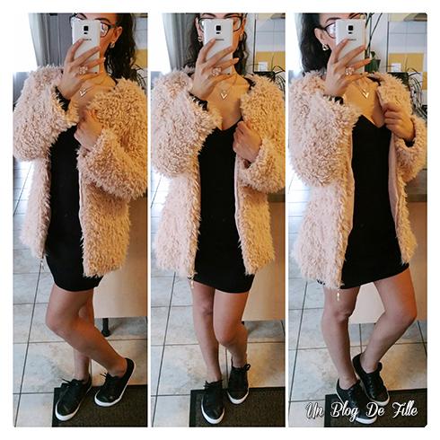 http://unblogdefille.blogspot.fr/2016/03/ootd-manteau-fluffy-et-robe-pull-noire.html