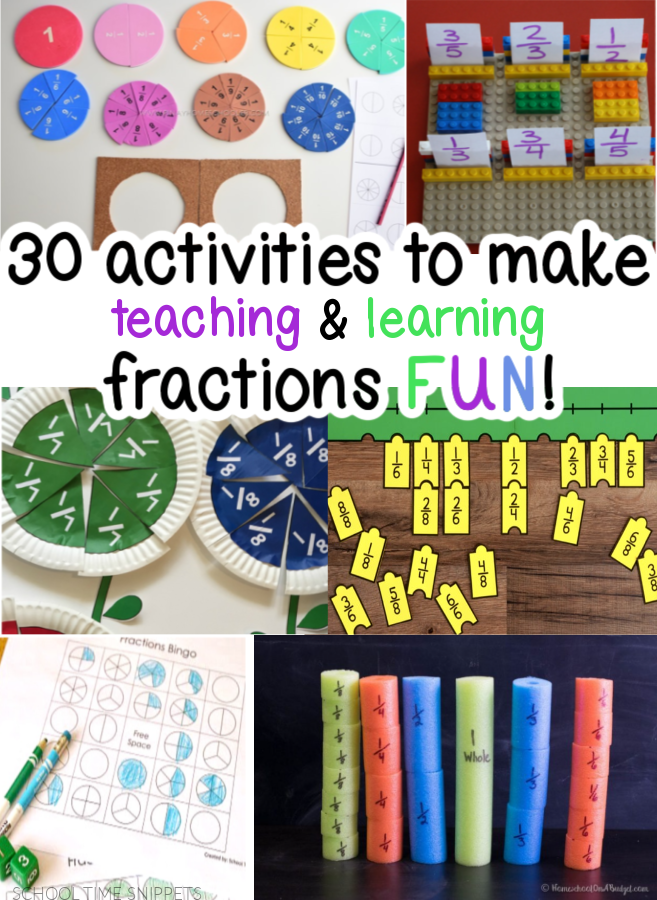 FRACTION ACTIVITIES