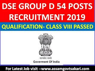 Directorate Of School Education Mizoram Recruitment 2019