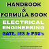 Electrical Engineering Handbook and/ Formula Book PDF Free Download for GATE, IES, PSUs, etc.