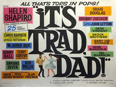 It's Trad, Dad Poster