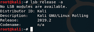 bash lsb_release command not found