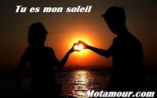 Photo Tu es mon soleil Messages