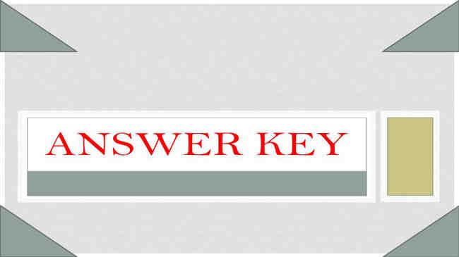 Assam Irrigation Junior Assistant Answer Key