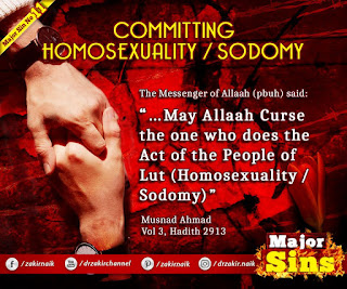 MAJOR SIN. 11.2. COMMITTING HOMOSEXUALITY / SODOMY | Kabira Gunah