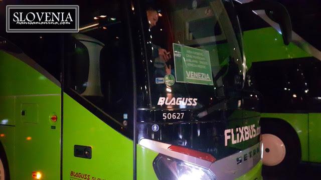 Flixbus Vienna - Venice / Ljubljana