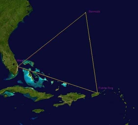 The Bermuda Triangle, Atlantic Ocean - RictasBlog