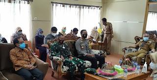 Kapolres Pangkep hadiri Pelepasan Ketua Pengadilan Pangkep