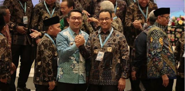Resmi Jadi 'Gubernur Indonesia', Anies Baswedan Kalahkan Ridwan Kamil, Ini Kata Ganjar Pranowo