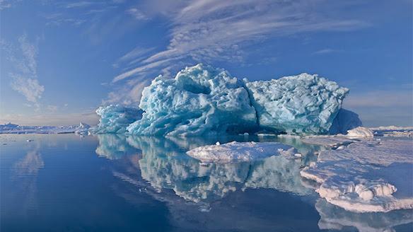 Greenland vẻ đẹp kỳ ảo như lạc vào một thế giới khác