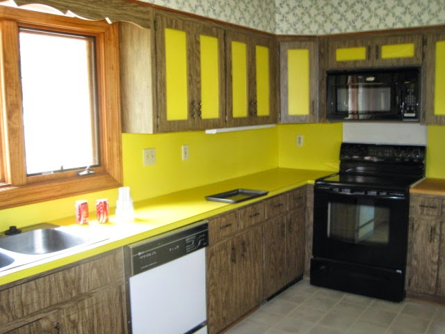 Before And After 70s Kitchen Remodel Between Our Walls