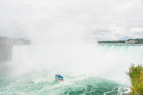Recorrido Maid of mist. Cataratas del Niagara