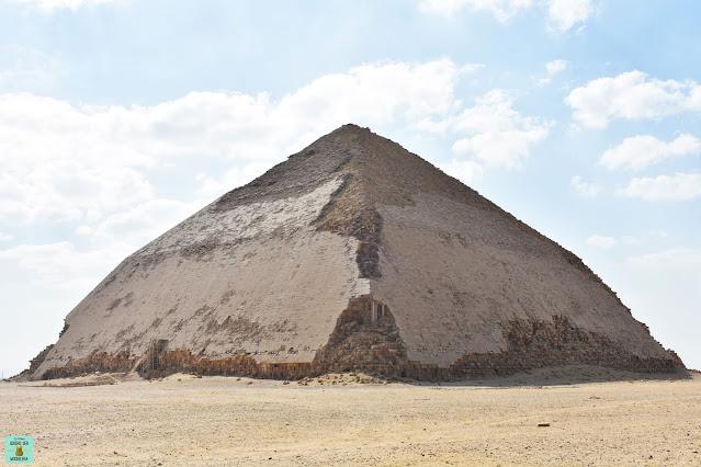 Pirámide Romboidal de Dashur, Egipto