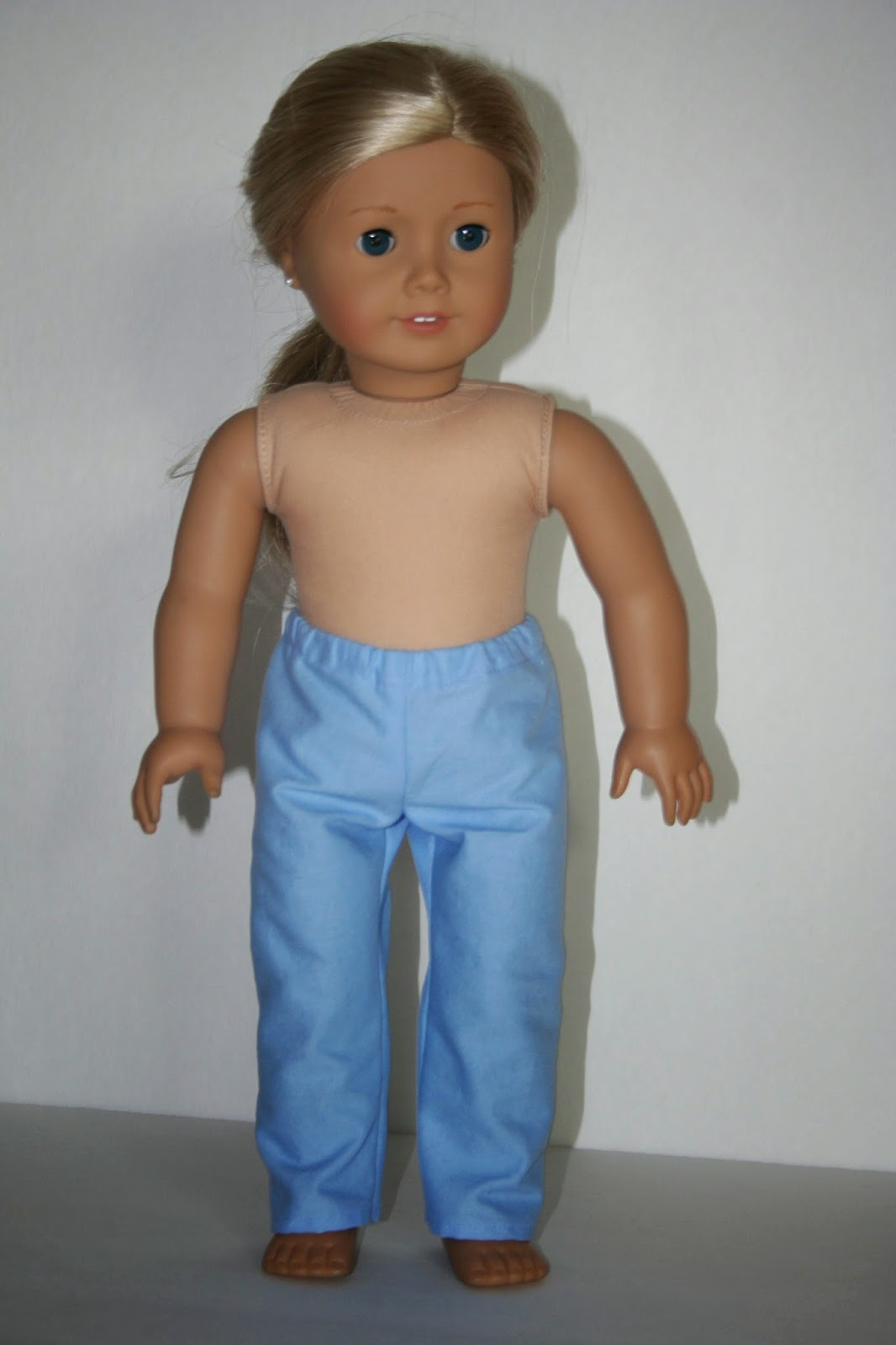 Arts and crafts for your american girl doll scrub pants for Easy american girl doll crafts