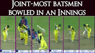 India vs Australia 1st T20I 2017 Highlights