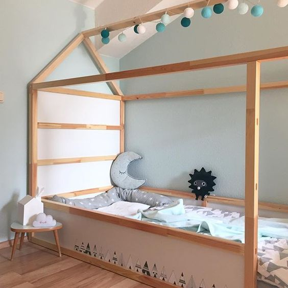 Monpetitnicolas Ideas Para Decorar Con Una Litera Kura De Ikea